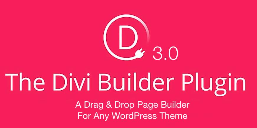 Divi Builder von Elegant Themes für WordPress Seiten